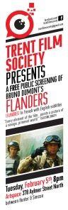 Trent Film Society Presents Bruno Dumont's Flanders